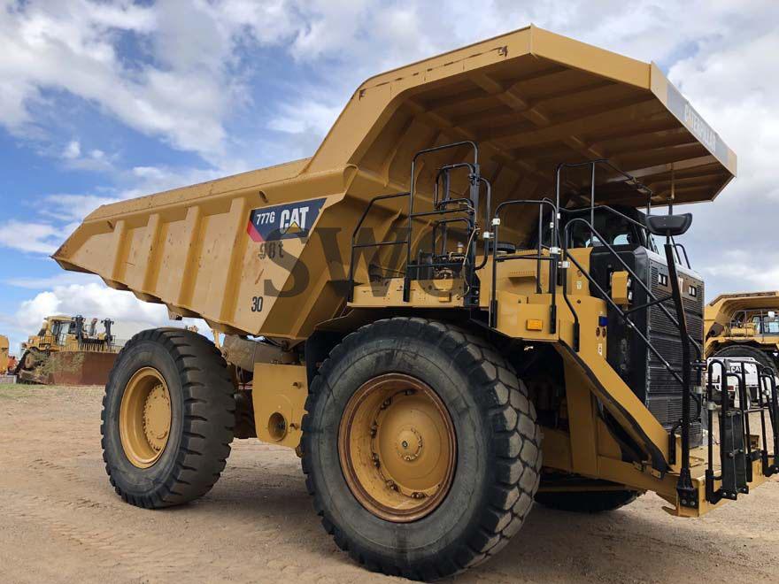 Caterpillar 777G - Used Off-Highway trucks for sale in Australia