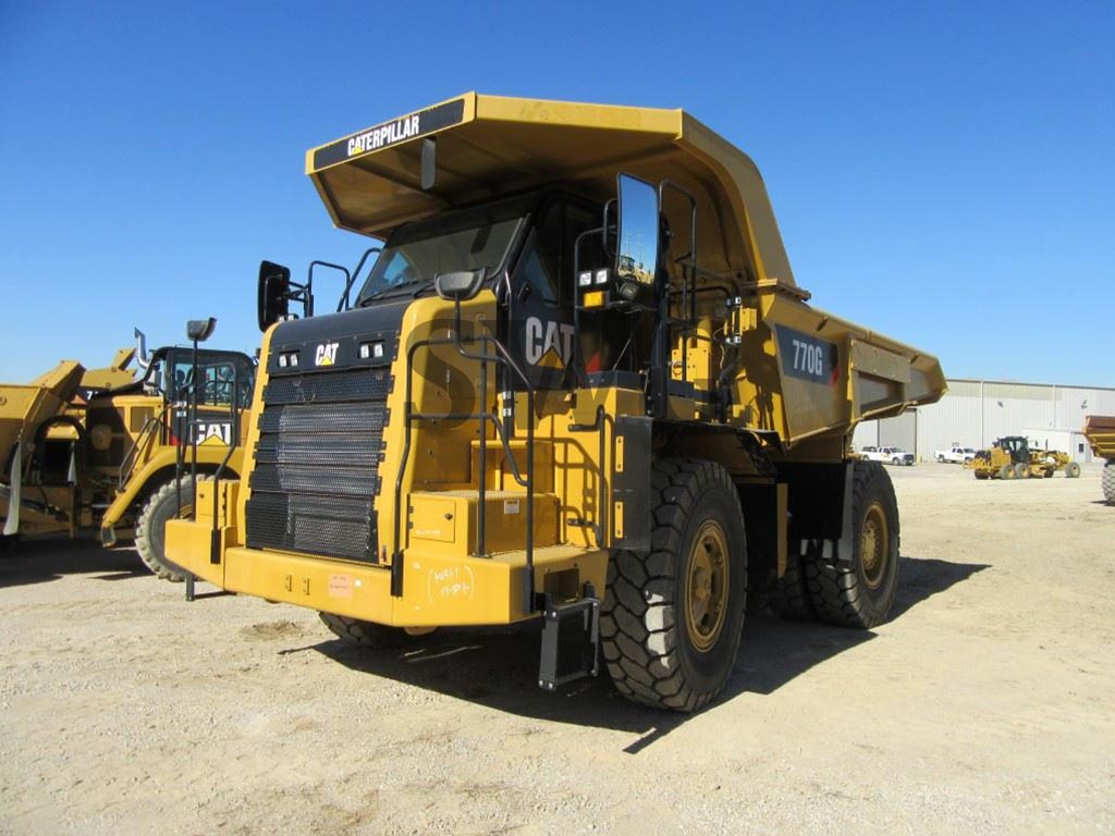 Caterpillar 770G - Used Construction Equipment for Sale in USA & Canada