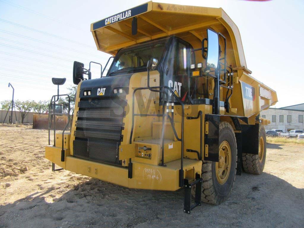 Caterpillar 770G - Second Hand Construction Equipment for Sale in Australia