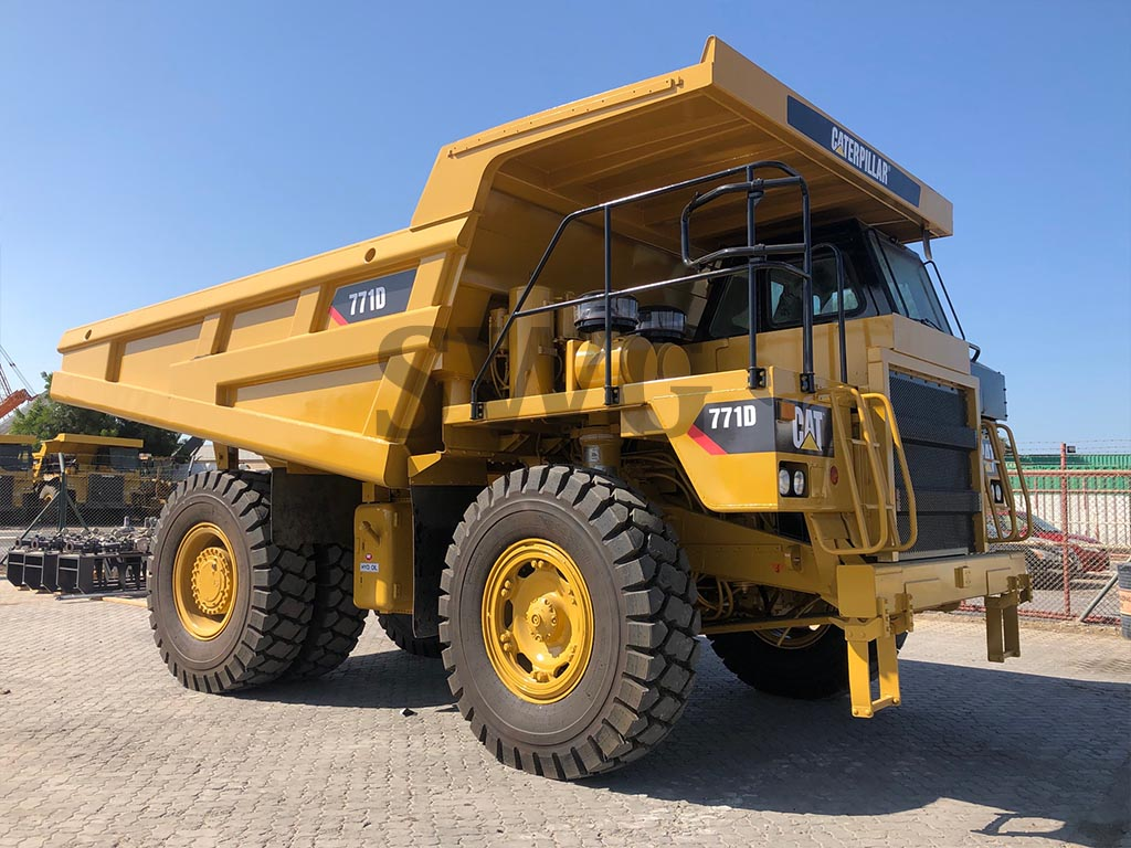 Caterpillar 771D - Used Off-Highway trucks for sale in Australia