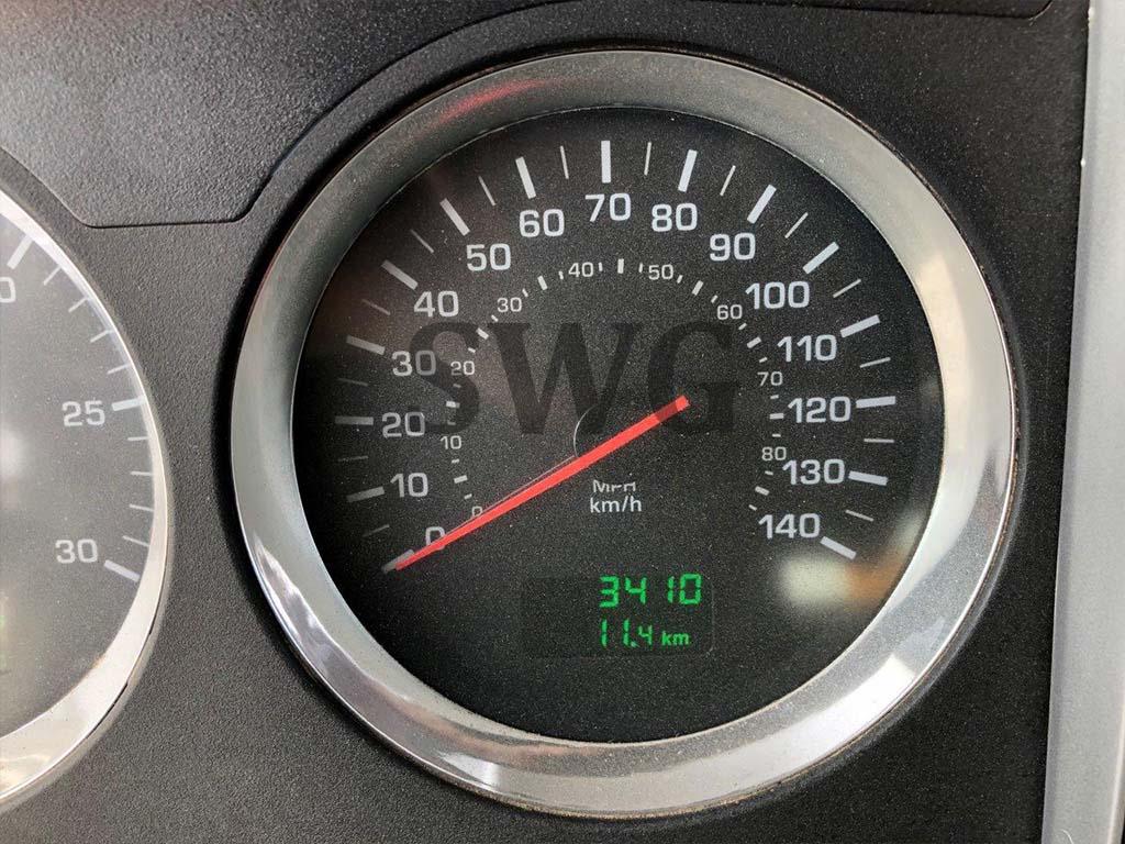 Kenworth T800 Tri-Drive