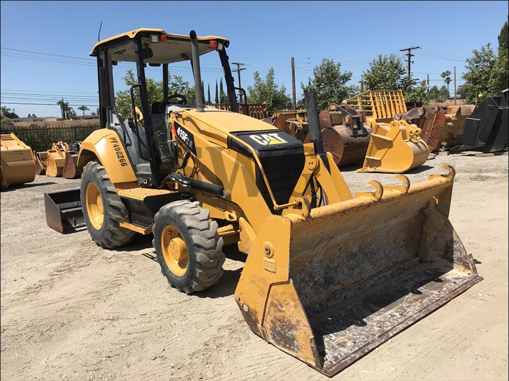 Caterpillar 415F2 INDUSTRIAL LOADER - Heavy Equipment rental in USA & Canada