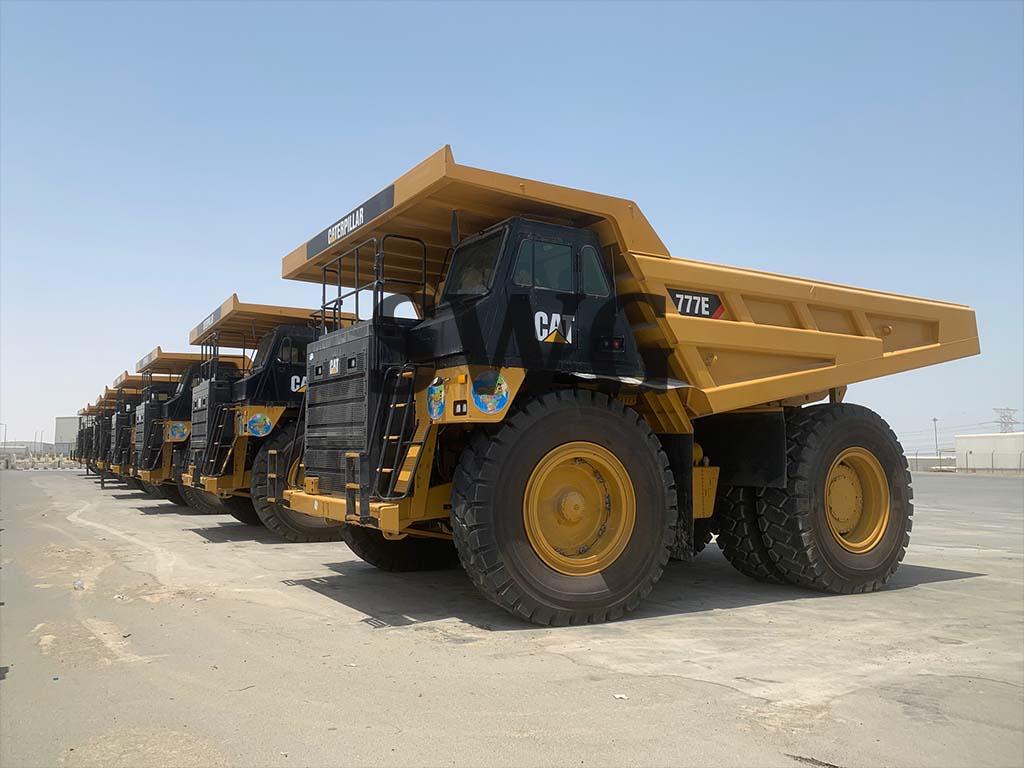Caterpillar 777E - Heavy Equipment for Rental in USA & Canada