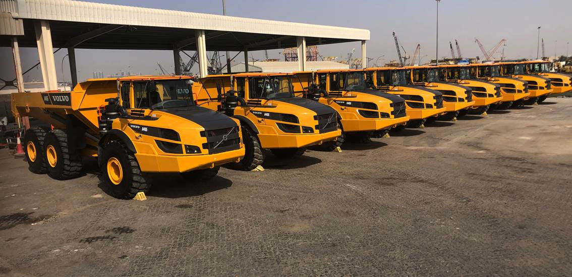 Articulated Trucks - Used construction machines for sale