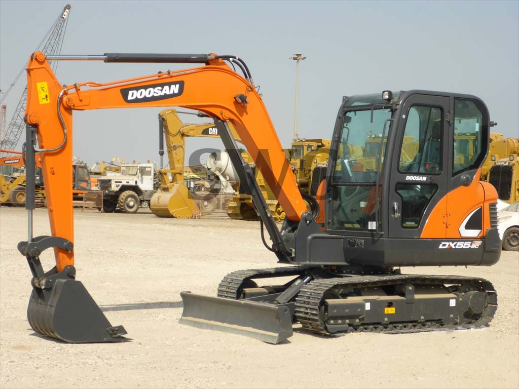 DOOSAN DX55-9CN - Used excavators for sale in Australia, Mexico, Ghana